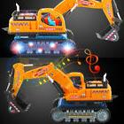 toys for boys toddler led electric excavator