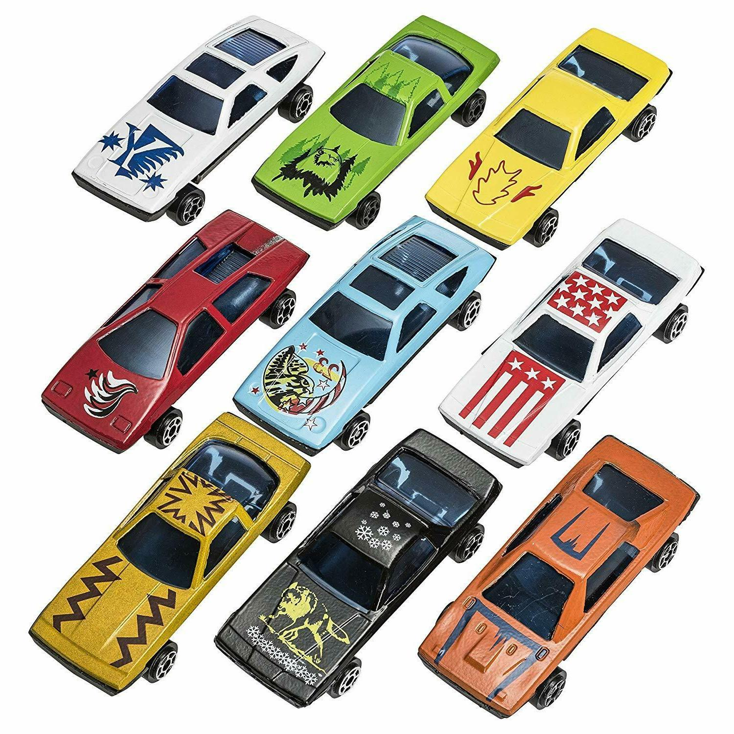 Toys for Kids Cars Race Lot Toy for Boys Children 100 Pcs
