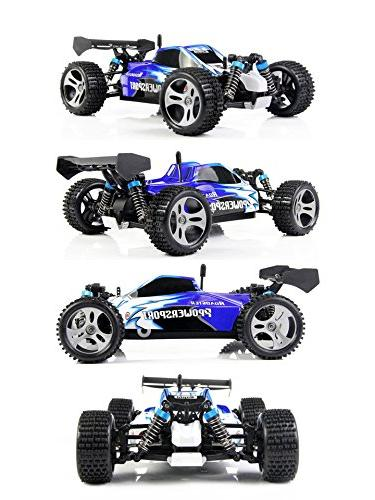 TOZO C1025 High 4x4 Fast Cars 1:18 RC W/2.4G Off Road Truck Powersport Roadster