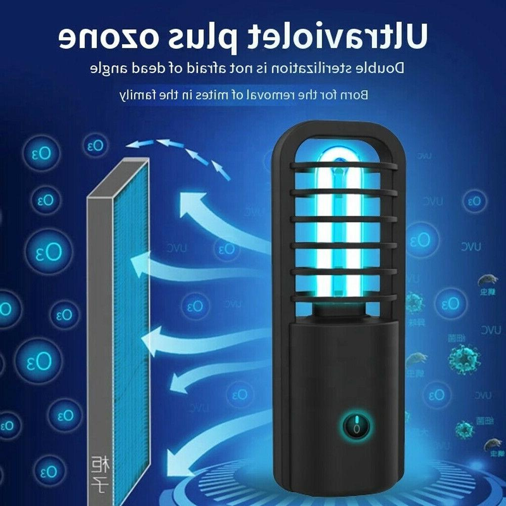 Ultraviolet Light Sanitizer Portable For Car,Room Kitchen USB Rechargeable