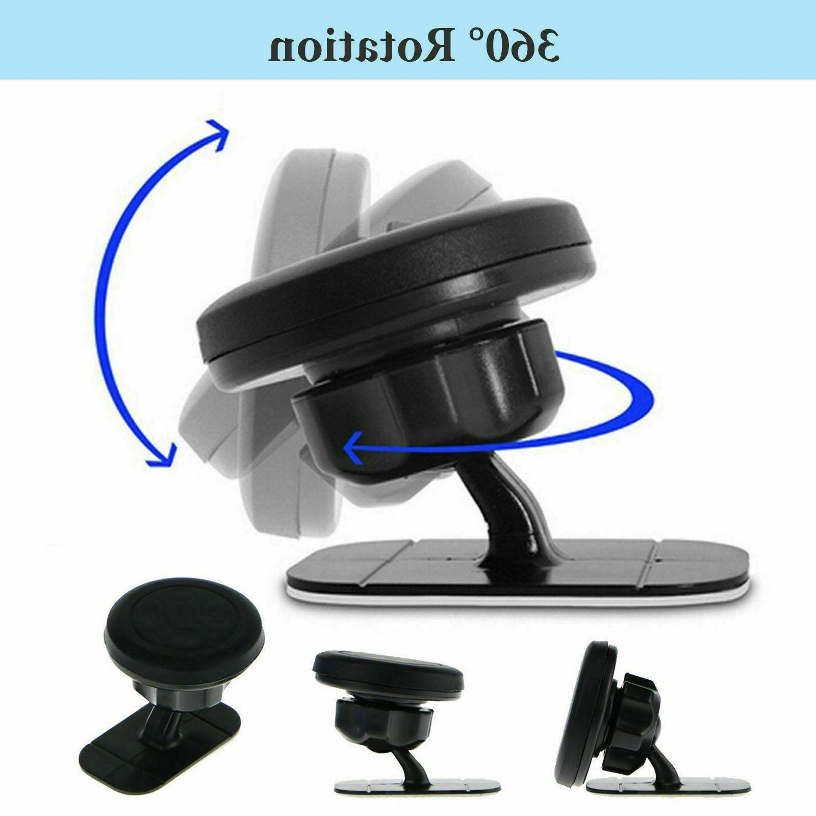 Universal 360° Car Mount Cell Phone Holder Stand iPhone