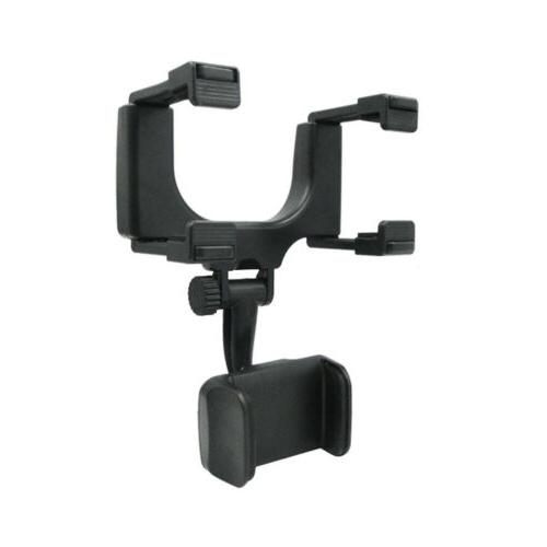 Universal Car Rear-view Mirror Mount Stand Cradle For GPS