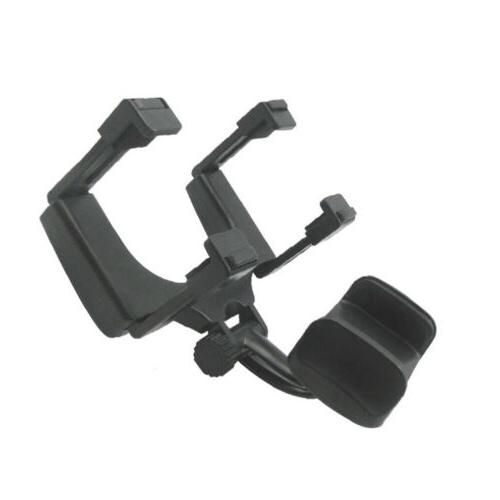 Universal Auto Car Rear-view Mirror Stand Cradle GPS