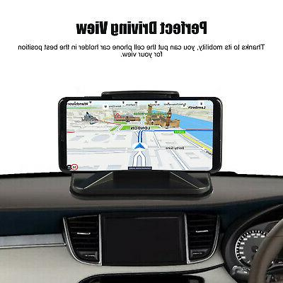 Universal Car Cell Mount Stand Dashboard HUD Design GPS