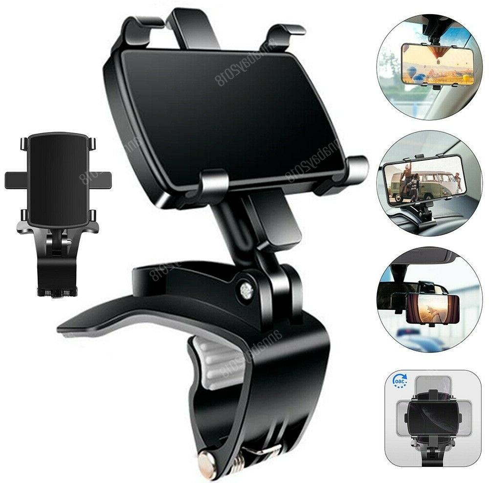 universal car dashboard mount holder stand clamp