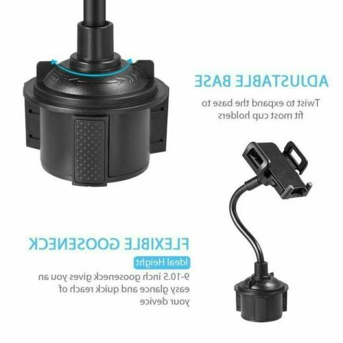 Universal Cup Cradle Car Mount For Cell GPS