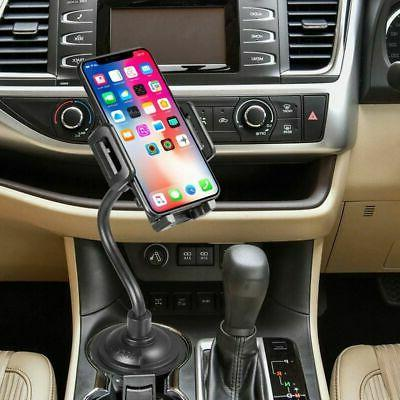 Universal Gooseneck Cup Holder Cradle for Cell