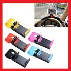 universal car steering wheel clip cradle phone