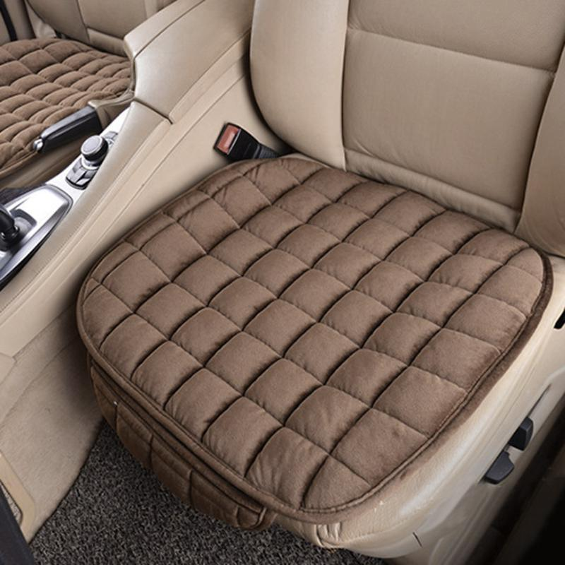 Universal <font><b>Car</b></font> Seat Winter Anti Cushion Pad Mat Office <font><b>Chair</b></font> Cover Auto