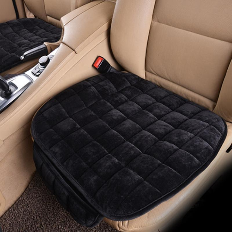 Universal Seat Cover Winter Plush Anti Slip <font><b>Chair</b></font> Cover Auto