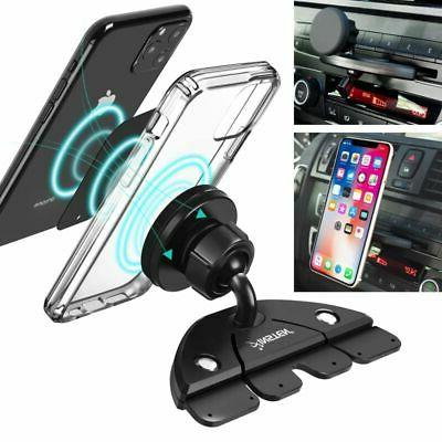 360° Car Holder CD Slot Magnet Holder Mount For Cell Phone