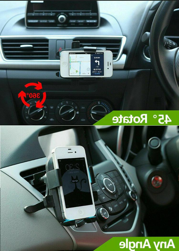 Universal Rotate Holder Stand Air Vent Cradle Phone