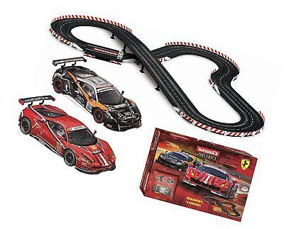 Carrera USA Ferrari Trophy Slot Car Racing