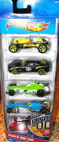 Hot Wheels Indy 500 5-Pack - 100th Anniversary Edition- Styl