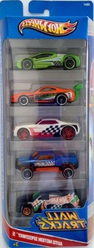 Hot Wheels Wall Tracks Auto Motion Speedway 5-Pack