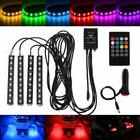 Wireless Decorat Music Control For Car Interior 7 color RGB