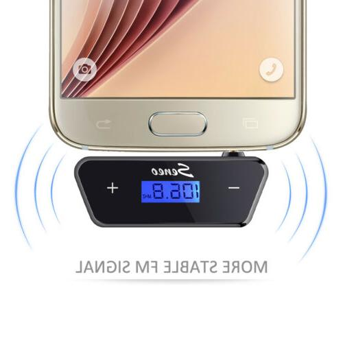 Wireless Music Radio 3.5mm FM for MP3 6s
