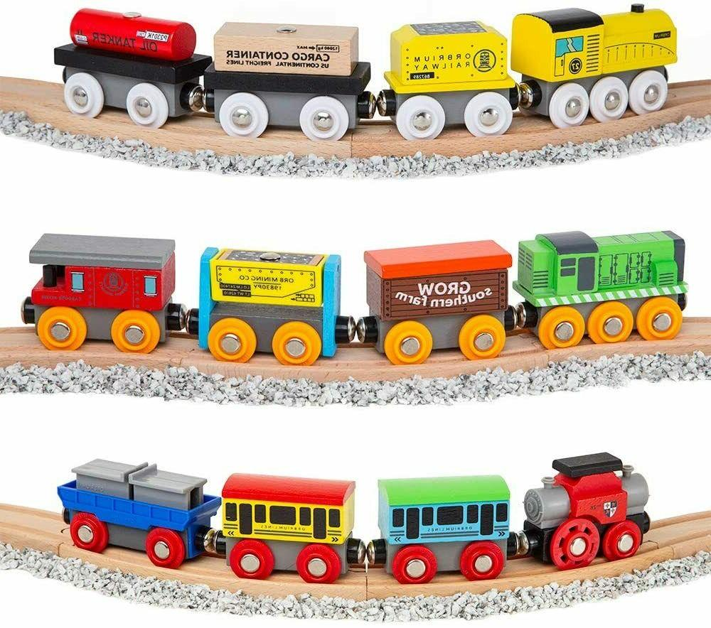 Wooden Set Magnetic Wood Thomas Brio for Kids