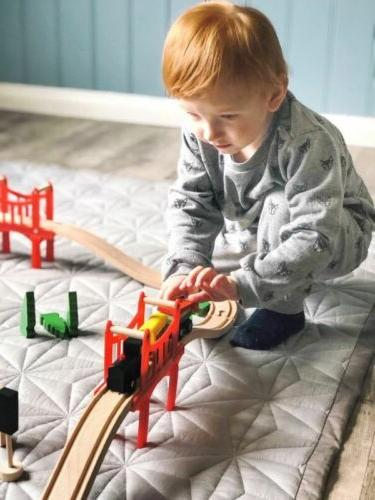 🚝Wooden Train Tracks Set For Children