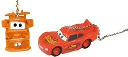 Lightning McQueen & Tow Mater Ceiling Fan Pull Set