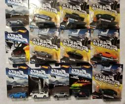 Lot Of 13 Different Mattel Fast And Furious 1:55 Cars & 1/64