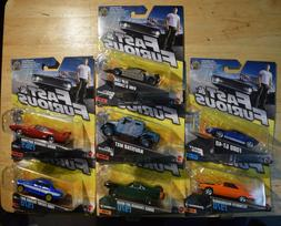 Lot of 7 MATTEL Fast and Furious Diecast Cars NEW