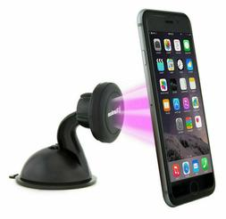 Magnetic Suction Cup Stand Car Mount Holder for ALL PHONES W