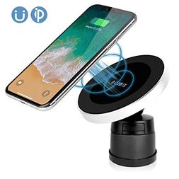 XINLON Magnetic Wireless Car Charger,Wireless Charging for S