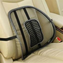 Mesh Back Lumbar Support For Car Seat Office Chair Home Supp