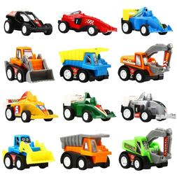 Mini Assorted Vehicles Race Car Truck Toy Play Set For Kids