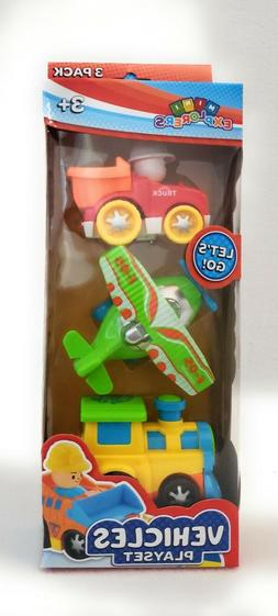 Mini Explorers Vehicles Play Set * Lets Go For A Ride!