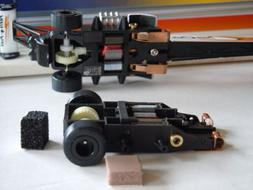 Modified WIZZARD Patriot USA Slot Car Rolling Chassis for AW