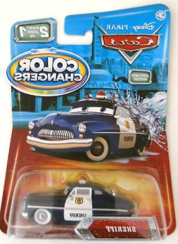 Disney / Pixar CARS Movie 155 Color Changers Sheriff