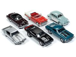 Muscle Cars USA 2018 Release 2 Set A of 6 1/64 Diecast Model