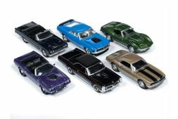 JOHNNY LIGHTNING MUSCLE CARS USA 2018 RELEASE 4 SET B BOX OF