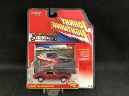 Johnny Lightning Muscle Cars USA Red 1967 Chevy Camaro Z28 1
