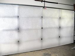 NASA TECH White Reflective Foam Core 2 Car Garage Door Insul