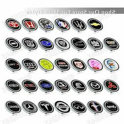 New Car Logo Switchable 7 Color LED Cup Holder Mat Coaster P