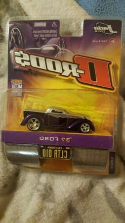 New Jada Toys D-Rods '37 Ford 1:64 Die Cast, New