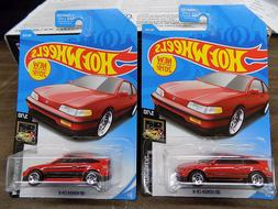 New For 2019 1 Hot Wheels '88 Honda CR-X Error In Paint And