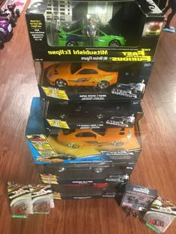 NEW! LOT of 10 Fast and Furious by Jada R/C Cars  &  Revell
