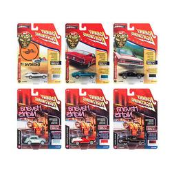 New Muscle Cars USA 2018 Release 2 Set A of 6 1/64 Diecast M