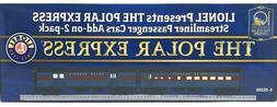 NEW! O Lionel #6-35209 The Polar Express Streamliner Passeng