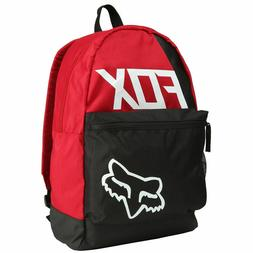 NEW - FOX RACING SIDE CAR KICK STAND BACKPACK - DARK RED