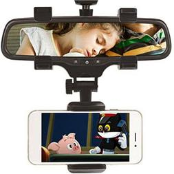 New Universal 360° Car Rear-view Mirror Mount Stand Holder