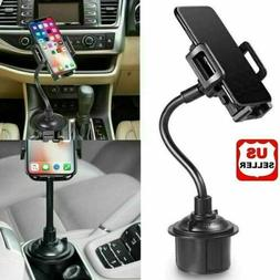 New Universal Car Mount Adjustable Gooseneck Cup Holder Crad