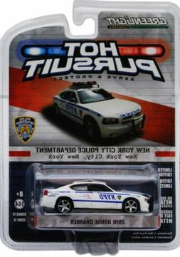 NYPD 2010 DODGE CHARGER POLICE CAR 1/64 SCALE DIECAST CAR BY