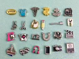 occupation and hobby floating charms for your floating locke
