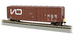 Bachmann 50' Ouitside Braced Box Car with Flashing End of Tr