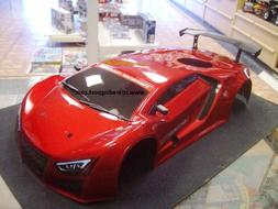 Painted Red Supercar Nitro Body For Redcat 1/10 RC Touring/D